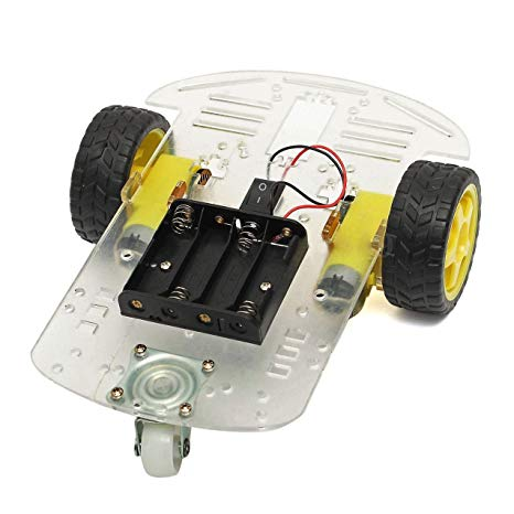Arduino Project 58- Infrared controlled robot car