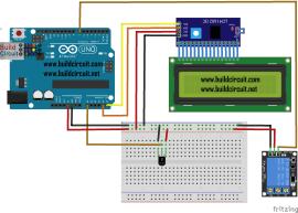 Arduino project 60- Arduino based thermostat and relay