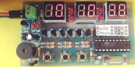 DIY KIT 31- Digital Clock Kit Using Seven Segment Displays