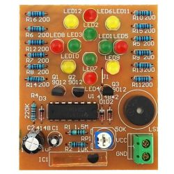 DIY KIT 27- CD4060 and LEDs music kit
