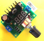 DIY KIT 57- LM317 adjustable power supply with seven segment display