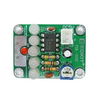 DIY KIT 37- TDL-555 Touch Delay Switch LED Light DIY Kit