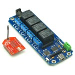 TOSR142 - 4 Channel Smartphone WiFi Relay - (Password/Momentary/Latching)