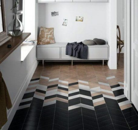 tile to wood transition mix your