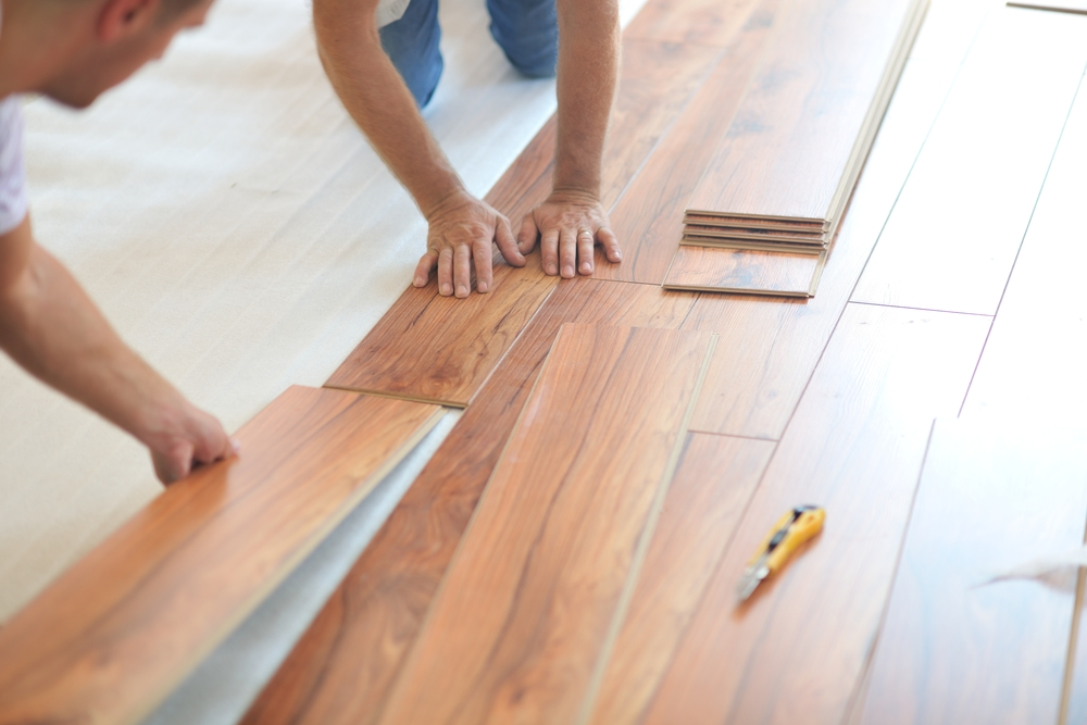 How to Install Laminate Flooring Infographic