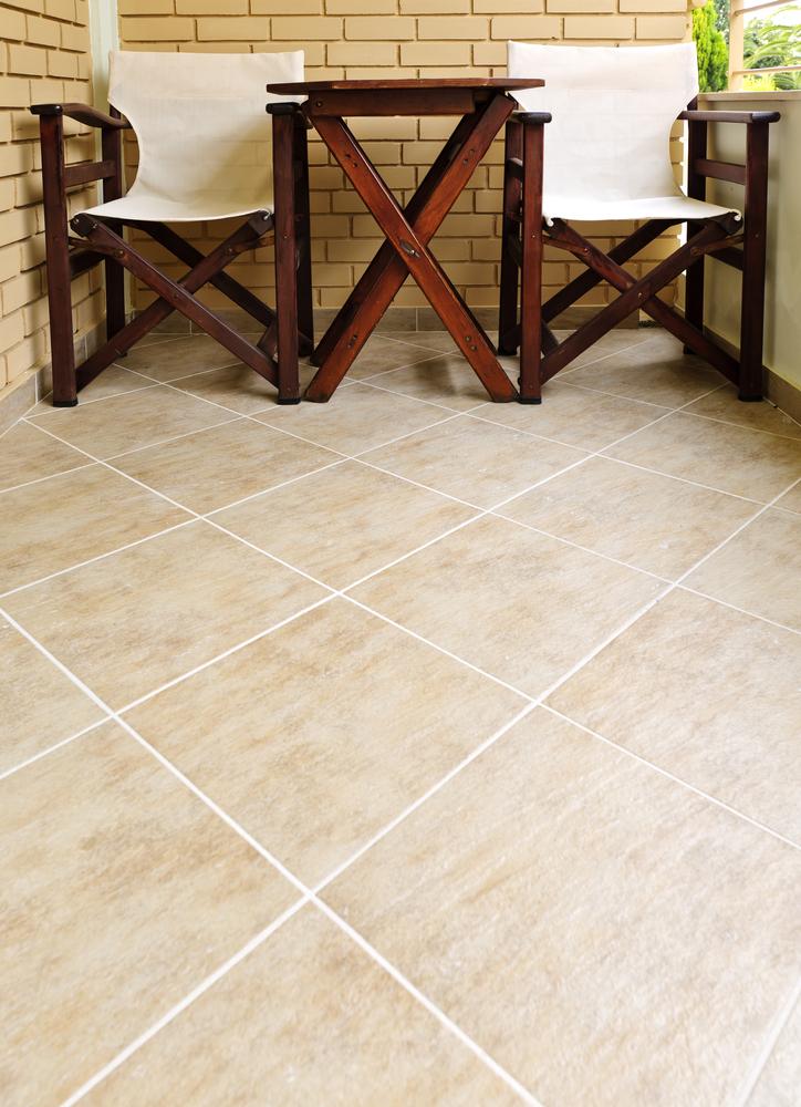 porcelain ceramic tile installation