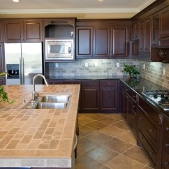 Ceramic Tile For Kitchen Island Seating How To Maintain Porcelain Countertop Backsplash Flooring