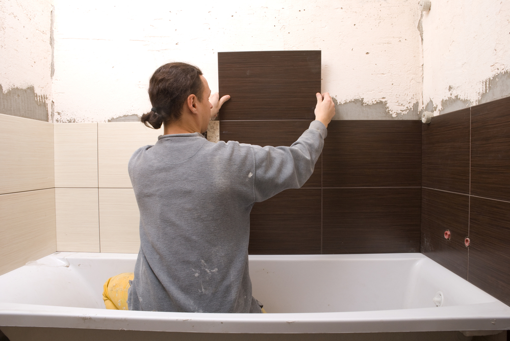 how to install a tile shower surround