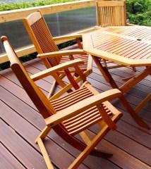 choose wood patio furniture