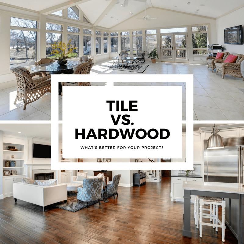 tile or hardwood what s better for
