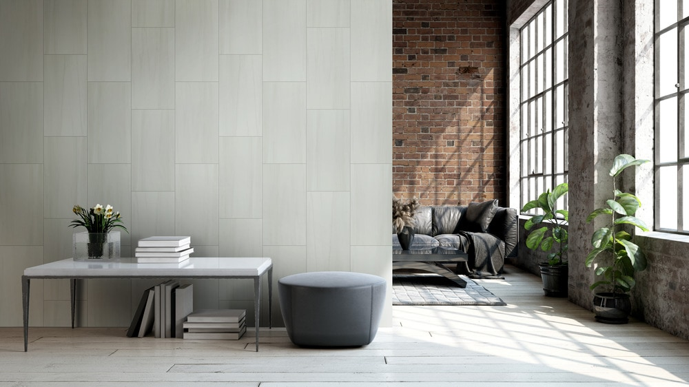 how to clean porcelain tile polished