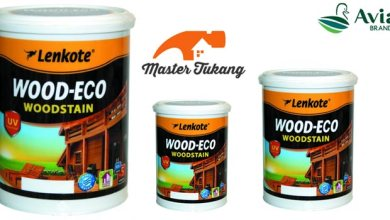 Photo of Politur Lenkote Wood Eco Woodstain, Teknologi Waterbase Anti UV