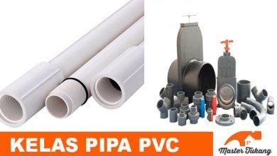 Photo of Kelas Pipa PVC Menurut Standar SNI