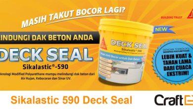 Photo of Sikalastic 590 Deck Seal, Waterproofing Tangguh untuk Dak Beton