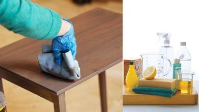 Photo of DIY Furniture Cleaner, Membuat Pembersih dan Pengkilap Mebel