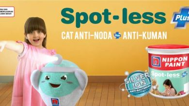 Photo of Nippon Spot-Less Plus, Cat Anti Kuman dengan Silver Ion Technology