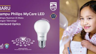 lampu philips mycare led
