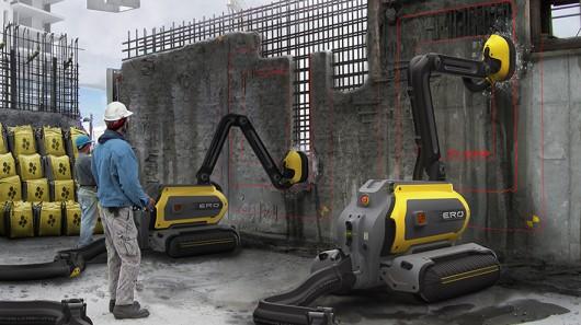robot konstruksi akan marak
