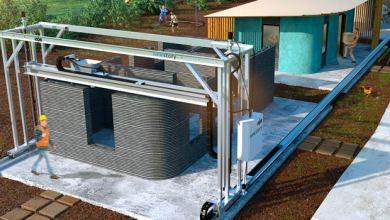 Photo of Mesin Cetak Bangunan 3D, Cara Kerja Mesin Cetak Beton 3D