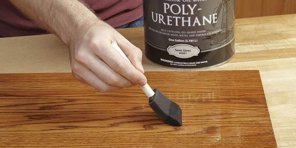 Finishing Melamine PU (Polyurethane), Cara Menggunakan Cat PU