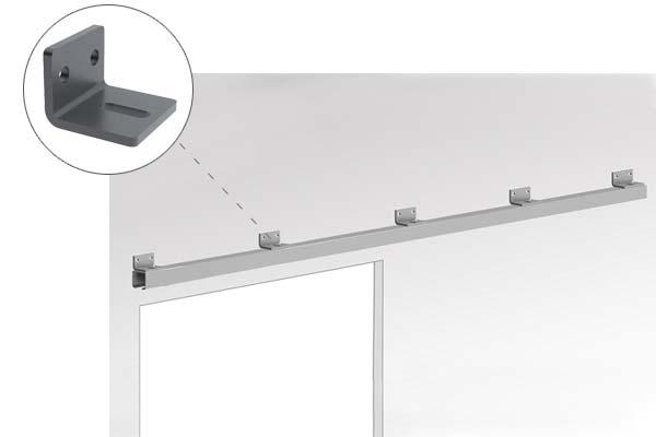 Braket merupakan komponen penting pintu geser