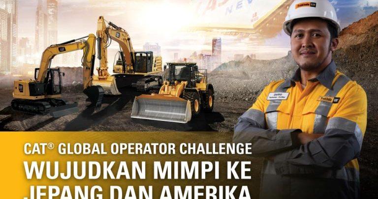 operator challenge caterpillar