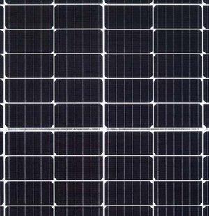 half cut solar panel