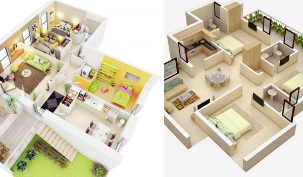 Denah Rumah 3 Kamar Modern Minimalis Terbaru