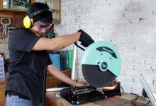 cara menggunakan mesin potong besi