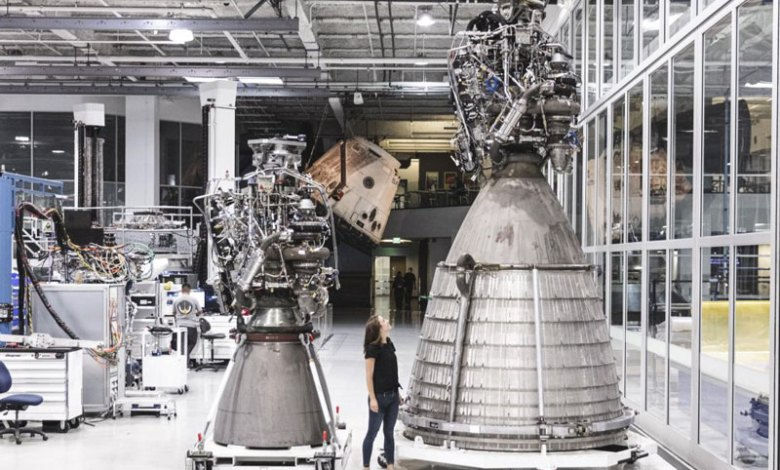 spacex kembangkan mesin roket tercanggih