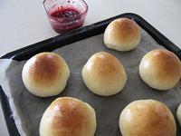 自家製パンと、ジャム