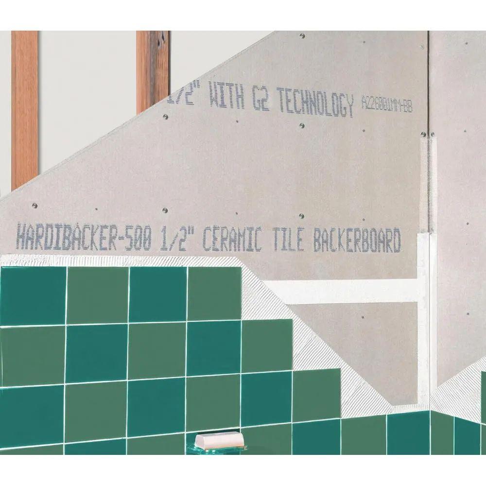 12mm hardiebacker 500 fibre cement tile backer board 1200mm x 800mm 4 x 2 6
