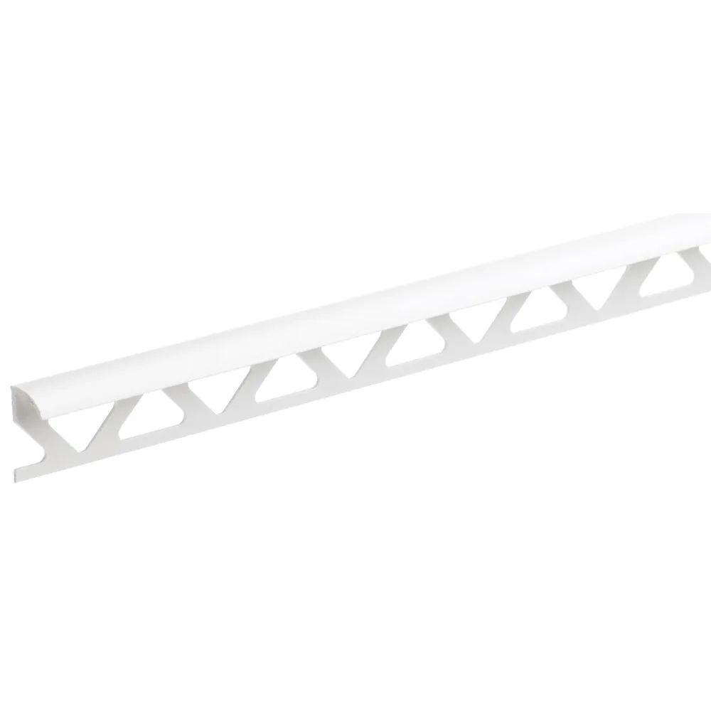 homelux 12 5mm white tile trim 2 44m
