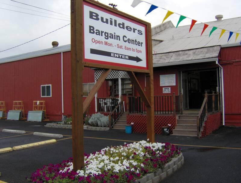 Builders Bargain Center White City Discount Building