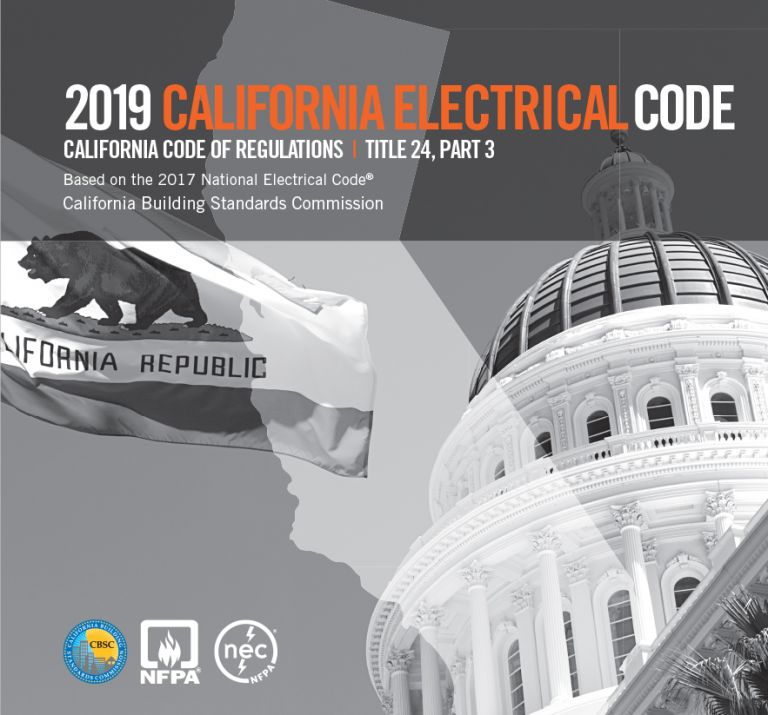 Nec Code Home Wiring 2019 California Electrical Code Title 24 Part 3 Cec19