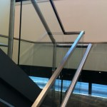 Stainless Steel Hand Rail and Glass Railing