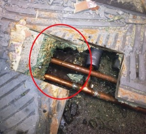 Water Leak Damage, Water Ingress Detection