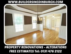 property renovation company - Builders In Edinburgh