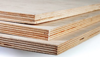 Plywood is resistant to bending because there is uniform distribution of weight