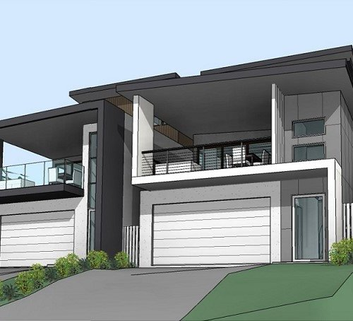 Brisbane Duplex won buy a Brisbane builder
