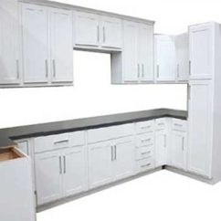 White Kitchen Cabinets Cat Georgetown Shaker Builders Surplus By Wholesale And Bath Supply Serving Portland Or