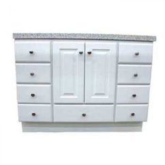 Kitchen Vanities Surplus Appliances Richmond Satin White With Bottom Drawer Vanity Builders Bathroom By Wholesale And Bath Supply Serving Portland Or