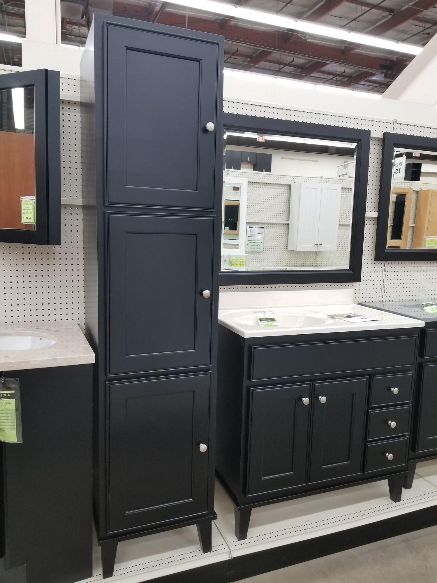 Bathroom Vanity With Linen Cabinet Call Builders Surplus