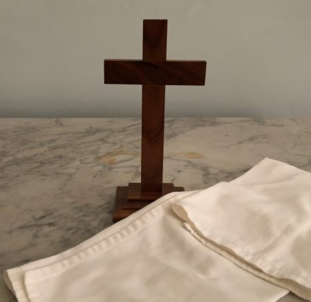 Cross and cloth