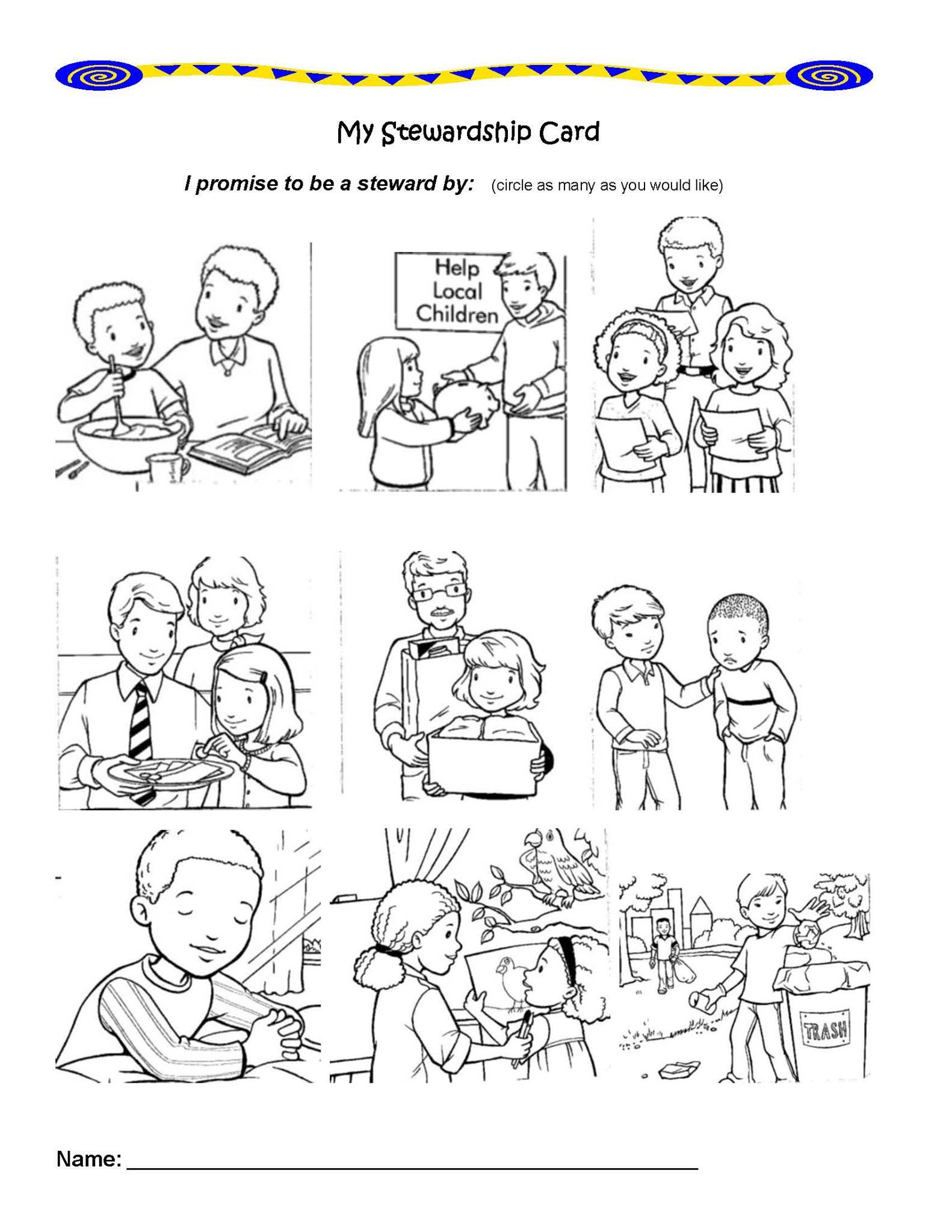 Sharing Stewardship with Children