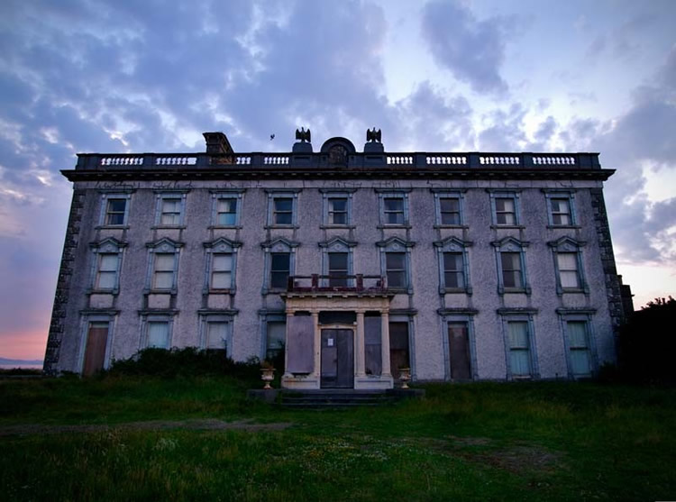 Loftus Hall Hook Peninsula Wexford Ireland Photo Gallery World Building Directory Buildings