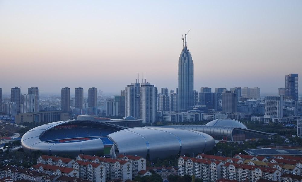 Modern Media Center Changzhou China  Photo Gallery