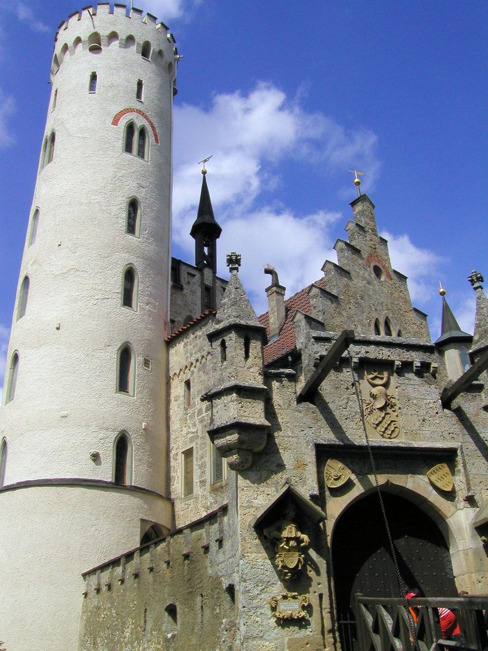 Lichtenstein Castle Baden Wurttemberg Germany Photo