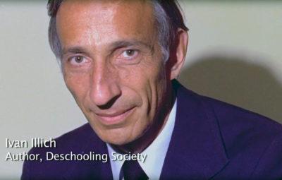 "Ivan Illich, author of ""Deschooling Society"""