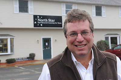 Ken Danford of The North Star School. Recorder Staff/Paul Franz